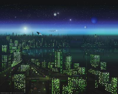 alien night