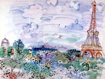 dufy, raoul   the eifel tower,