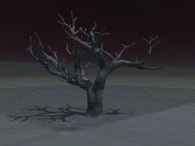 metal tree