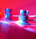blue pink light tuning pegs