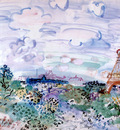 dufy, raoul   the eifel tower,