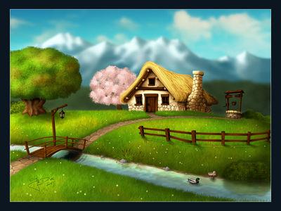 Seasons   Spring by geci