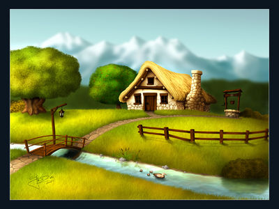 Seasons   Summer by geci
