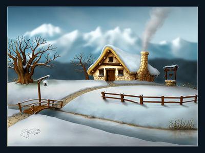 Seasons   Winter by geci