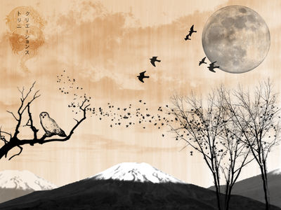 Japanese Painting by trinifellah