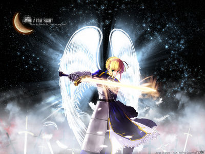 [animepaper]wallpapers fate stay night honchay