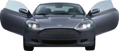 DB9 Front view