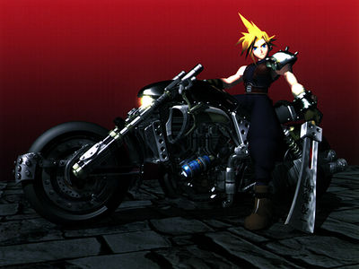 Cloud and The Motorcycle