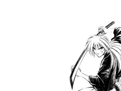 Kenshin   Black and White