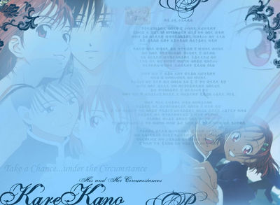 KareKano wallpaper in Blue