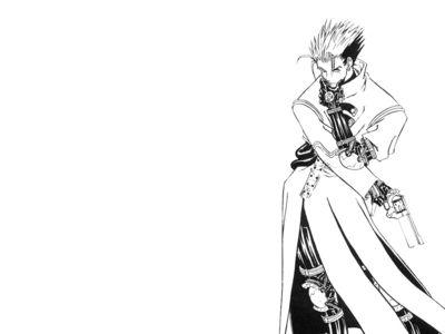 Vash   Black and White