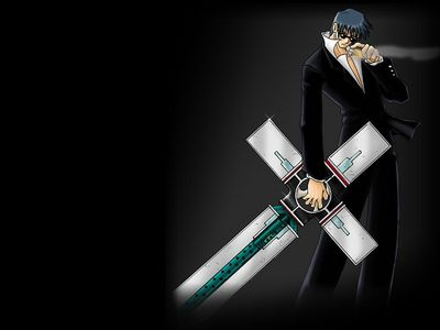 Wolfwood and Cross Punisher