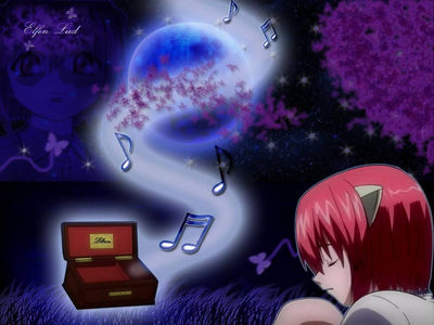 minitokyo anime wallpapers elfen lied