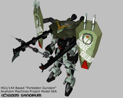 forbidden gundam