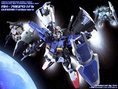 Fullburnern Gundam RX 78GPO1Fb
