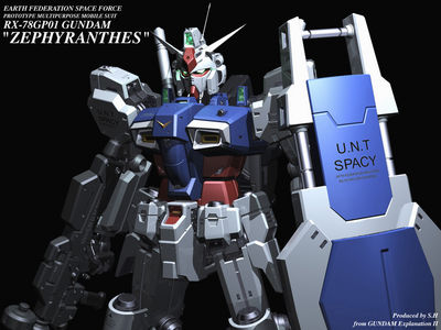 RX 78GP01 Zephyranthes Gundam