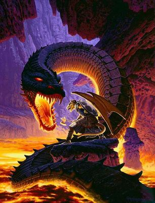 Dragons   hunter dragon