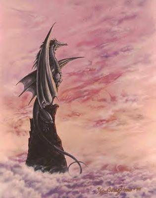 monika livingston   black dragon