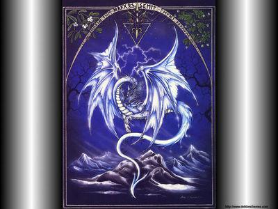 Silver Dragon Wallpaper (1)