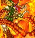 Zelda versus dragon