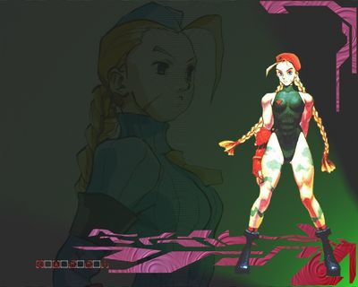 Cammy green pink