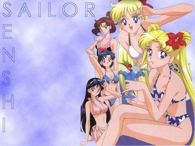 Sailor Moon   Bikini s (Wallpaper)