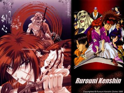 The Original Rurouni Kenshin theme wallpaper