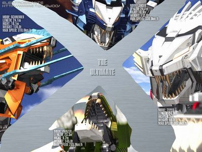 Zoids   Ultimate X Liger