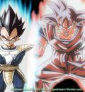 DBZ wp 016  Vegeta   Goku
