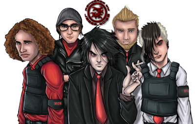 My Chemical Romance Cartoon