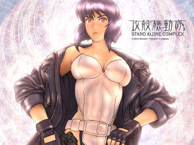Ghost In The Shell   Stand Alone Complex   Wallpaper 01   1024x768