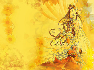 Goddesses in Goldenrod