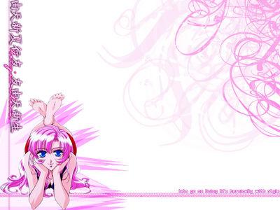 Stylish Pink Heroine