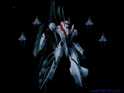 Robotech   Macross 2 wallpaper HiRes   Veritech Valkyrie VF 2SS battloid configuration