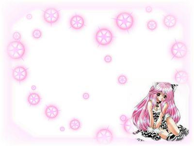 pretty pink kitty