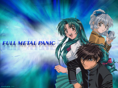 full metal panic by inimitable