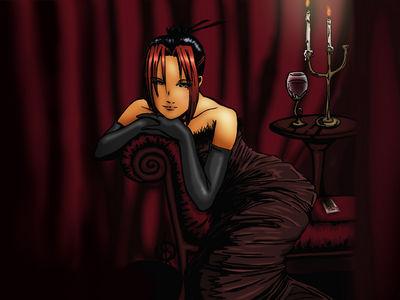 Red Queen Wallpaper version