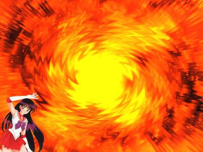 Sailor Mars Fire Spiral