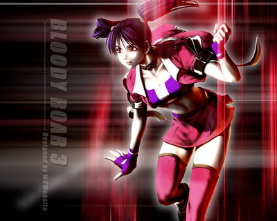 bloody roar3 girl