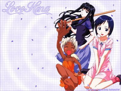 Love Hina Wallpaper New Style