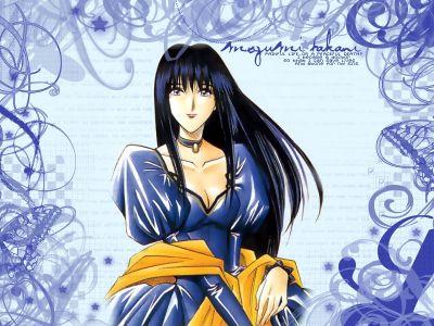 Megumi In Blue