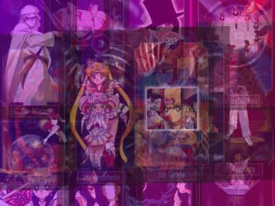 The Many Faces in Sailor Moon