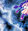 Tifa with lightning