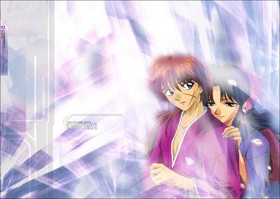 Kenshin and Kaoru   Aishiteru