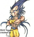 SSJ5 vegeta