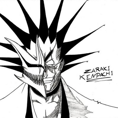 Zaraki Kenpachi Hollow mask