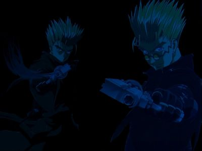Anime Wallpaper Trigun   Vash Night