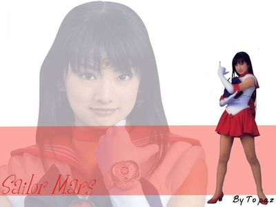 Sailor Mars   Line by B2Topaz