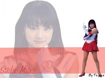 Sailor Mars   Line by B2Topaz