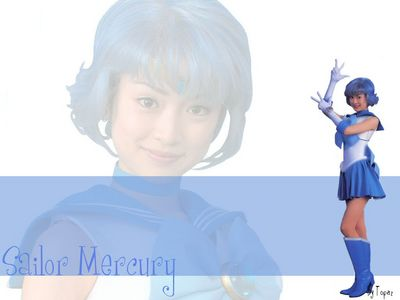 Sailor Mercury by B2Topaz